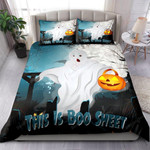 Halloween This Is Boo Sheet Bedding Set Bed Sheets Spread Comforter Duvet Cover Bedding Sets