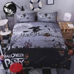 Witch Halloween Bedding Set (Duvet Cover & Pillow Cases)