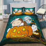 Halloween Cow Painting Cotton Bed Sheets Spread Comforter Duvet Cover Bedding Sets