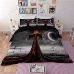 Halloween Horror Bedding Set      (Duvet Cover & Pillow Cases)