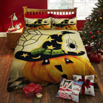 Halloween Pumpkin Bed Sheets Duvet Cover Bedding Set Great Gifts For Birthday Christmas Thanksgiving