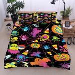 Skull And Halloween Bedding Set  (Duvet Cover & Pillow Cases)