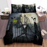 The Nightmare Before Christmas Jack Skellington & Halloween Pumpkin Bed Sheets Spread Comforter Duvet Cover Bedding Sets