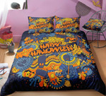 Happy Halloween Bedding Set      (Duvet Cover & Pillow Cases)