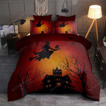 Halloween Style 2 Bedding Set   (Duvet Cover & Pillow Cases)