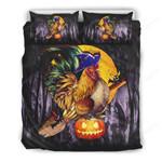 Chicken Halloween Bed Sheets Spread Comforter Duvet Cover Bedding Sets