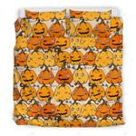Halloween Pumpkin Bed Sheets Duvet Cover Bedding Set Great Gifts For Halloween