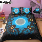 Halloween Bed Sheets Spread Duvet Cover Bedding Sets