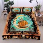 Halloween Cotton Bed Sheets Spread Comforter Duvet Cover Bedding Sets