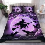 Witchcraft Halloween Bedding Set Bed Sheets Spread Comforter Duvet Cover Bedding Sets