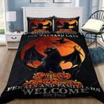 Halloween Cat Salem Bedding Set   (Duvet Cover & Pillow Cases)