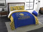 Golden State Warriors Bedding Set Halloween And Christmas (Duvet Cover & Pillow Cases)
