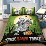 Dinosaur Halloween Bedding Set      (Duvet Cover & Pillow Cases)