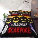 Halloween Skaryoke Bedding Set      (Duvet Cover & Pillow Cases)