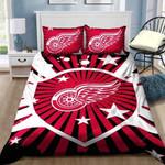 Detroit Red Wings Bedding Set Sleepy Halloween And  Christmas Sale