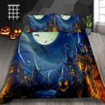 Ghost Town Bed Sheets Duvet Cover Bedding Set Great Gifts For Halloween
