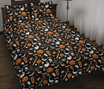 Halloween Things Gray Bedding Set Style 02 (Duvet Cover & Pillow Cases)