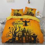 Wizard Castle Halloween Cotton Bed Sheets Spread Comforter Duvet Cover Bedding Sets