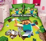 Minecraft Bedding Set Halloween And Christmas (Duvet Cover & Pillow Cases)