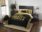 Pittsburgh Pirates Bedding Set Halloween And Christmas Sale  (Duvet Cover & Pillow Cases)