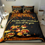 Halloween It's The Most Wonderful Time Of The Year Bedding Set Bed Sheets Spread Comforter Duvet Cover Bedding Sets