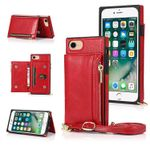 Classic Square Crossbody Wallet Phone Case