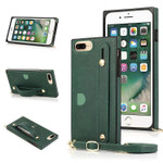 Hand Strap Holder Crossbody Wallet Phone Case