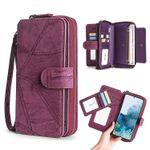 Classic Detachable Magnetic Wallet Phone Case