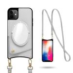 Crossbody Wallet Phone Case with Mirror