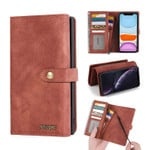 2 in 1 Detachable Magnetic Wallet Phone Case