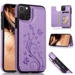 Classic Buckle Wallet Phone Case (Embossed Flower)