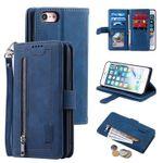 Retro 9 Card Slots Wallet Phone Case