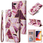 Classic Marble Wallet Phone Case