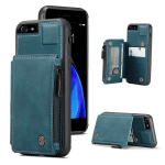 Double Magnetic Clasp Wallet Phone Case
