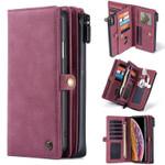 Detachable Magnetic Wallet Phone Case - 15 Card Slots