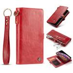 Retro Magnetic Detachable Wallet Phone Case