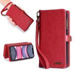 2 in 1 Folio Detachable Magnetic Wallet Phone Case