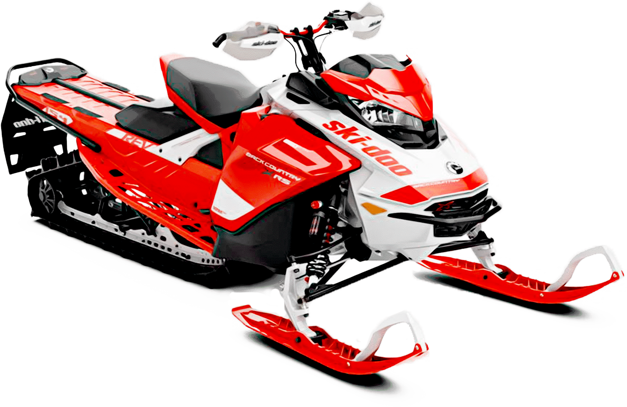 Ski-Doo Backcountry Red