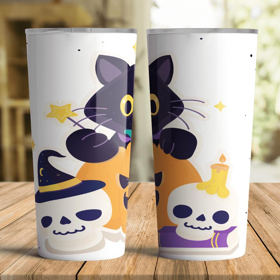 Fun Halloween Mugs For Cat Lovers