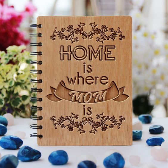 personalized notebook for mom