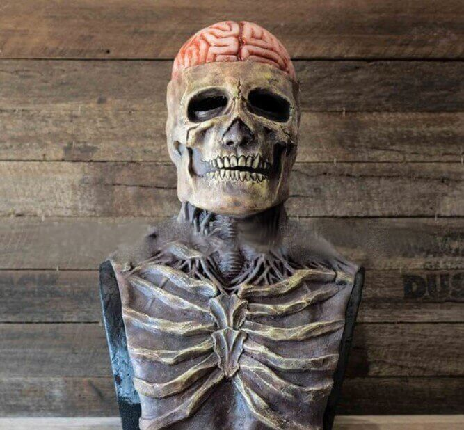Halloween Skeleton Biochemical Mask